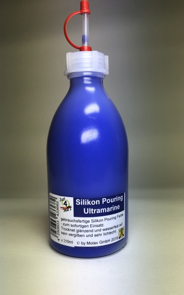 Silicon Pouring 250ml Ultramarine Blau