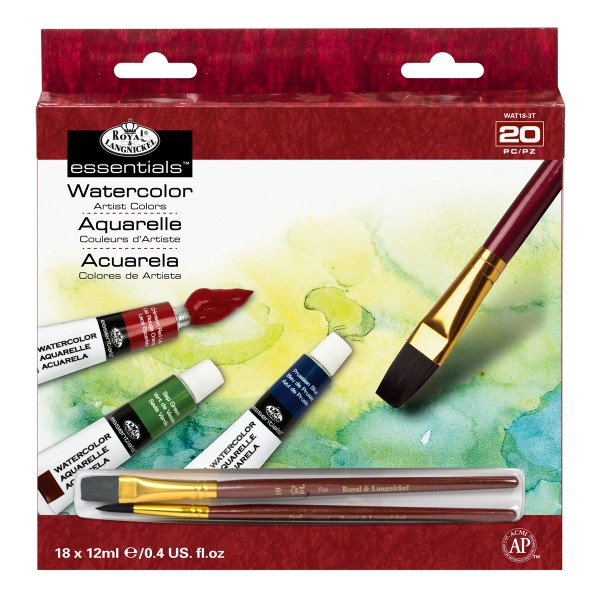 Watercolor Paint 18er Pack