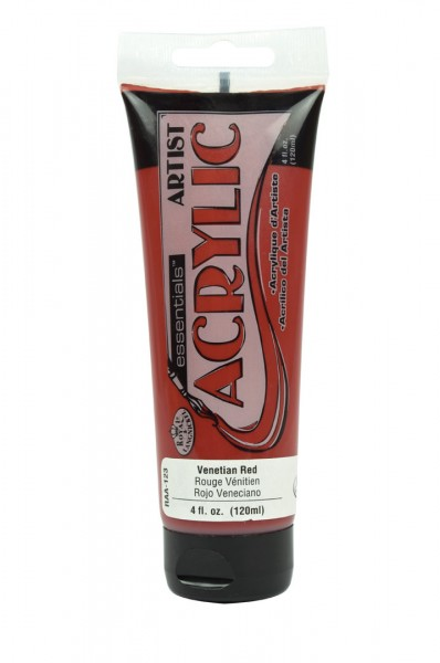 Essentials Acrylic 120ml Venetian Red