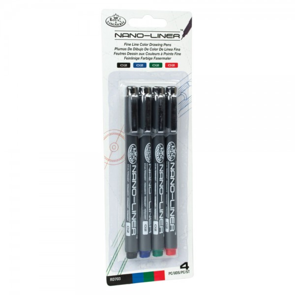 4er Pack Nano Liner Color 02