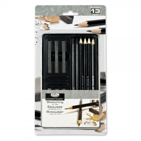 Small Tin Art Set - Graphite Sketching Art Set