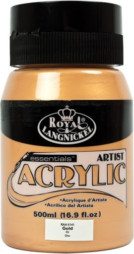 Essentials Acrylic 500ml Gold