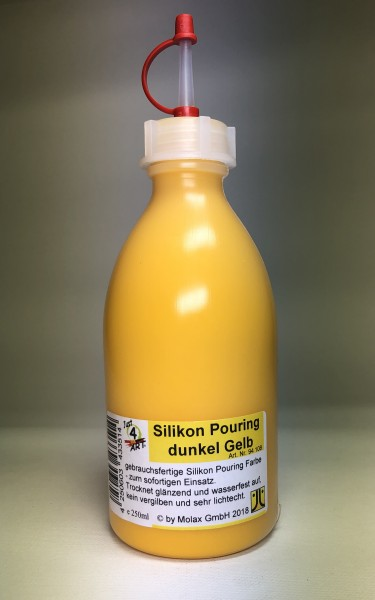 Silicon Pouring 250ml Gelb dunkel