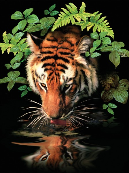 PJS Thirsty Tiger