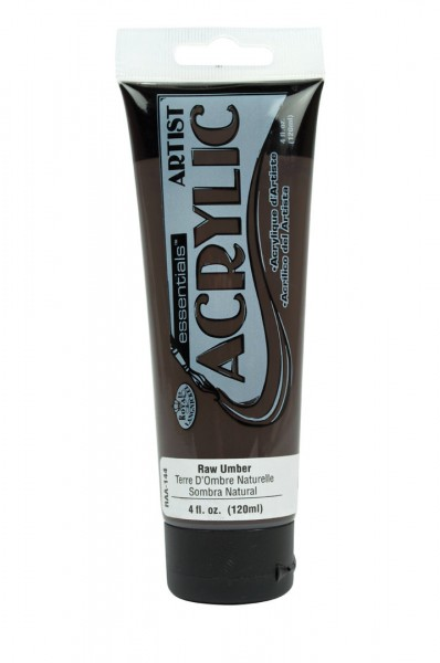 Essentials Acrylic 120ml Raw Umber