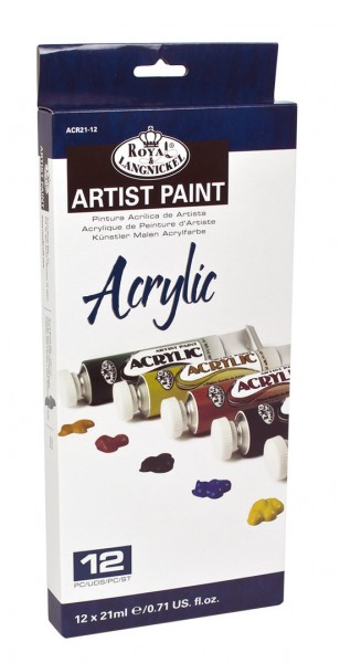 Acryl Color 12er Pack