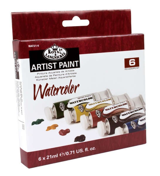 Watercolor 6er Pack