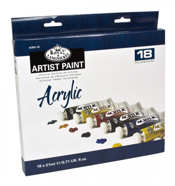 Acryl Color 18er Pack