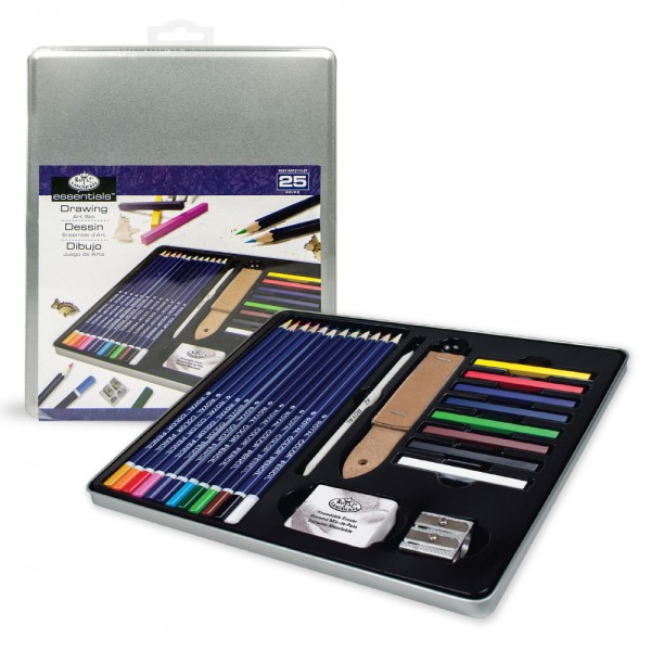Standard Tin Art Set - Still Life Drawing Art Set