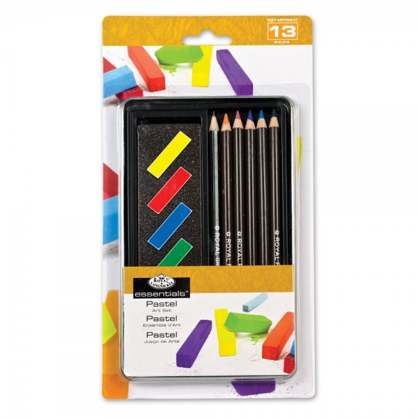 Small Tin Art Set - Pastel Pencil Art Set