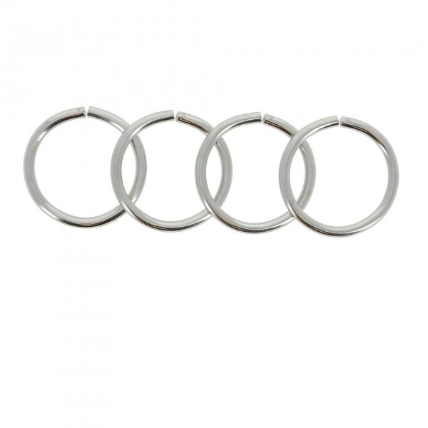 O-Ring Metall 4er Set