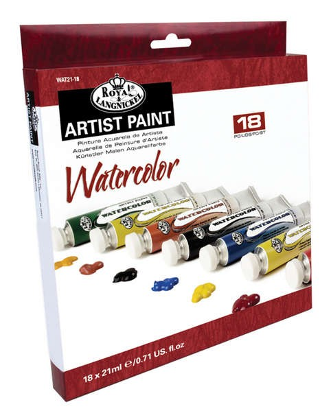 Watercolor 18er Pack